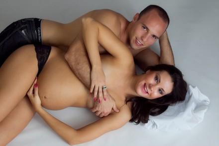 Studio Maternity Photography