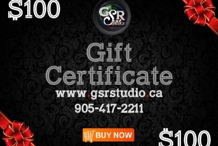 Gift Coupon 100$
