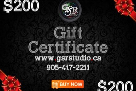 Gift Coupon 200$