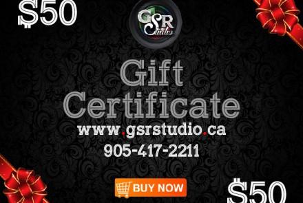 Gift Coupon 50$
