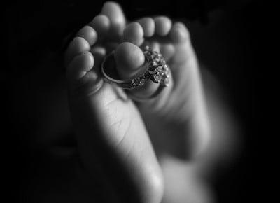 newborn baby photo session Maple