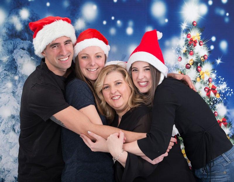 Christmas family photoshoot 2018