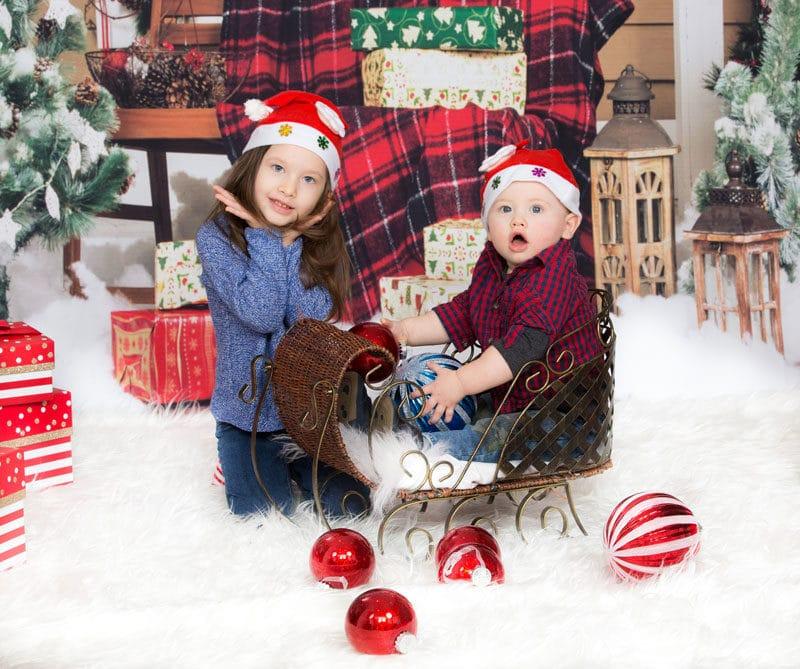 Baby First Christmas Photo Shoot Vaughan 2018