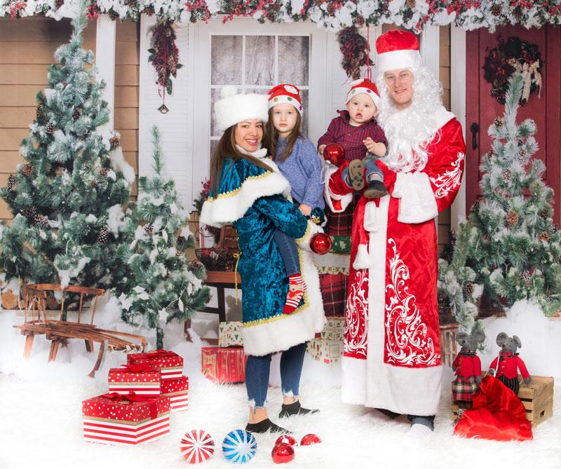 Christmas Photoshoot Toronto Family Newborn Maternity Xmas Photos